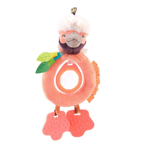 "MOULIN ROTY Paloma teether rattle ""Dans la jungle"""