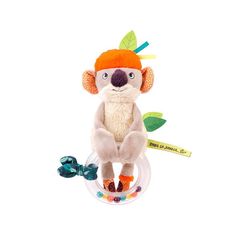 "MOULIN ROTY  Koco bead rattle ""Dans la jungle"""
