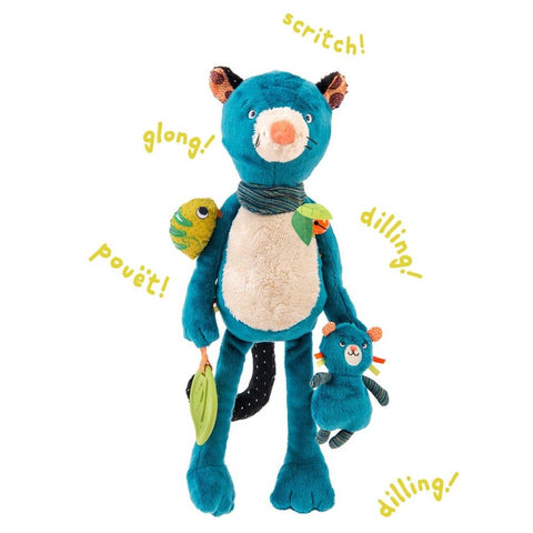 "MOULIN ROTY Zimba activity toy ""Dans la jungle"""