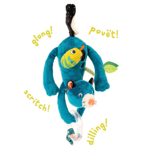 MOULIN ROTY Zimba hanging activity toy