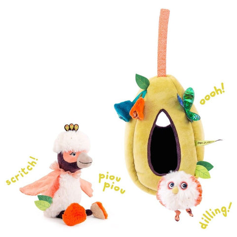 "MOULIN ROTY Nest activity toy ""Dans la jungle"""