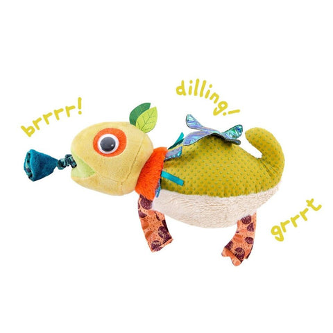 MOULIN ROTY Chameleon vibrating toy