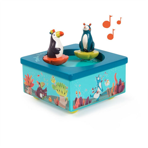 "MOULIN ROTY Music box ""Dans la jungle"""