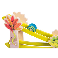 "MOULIN ROTY Cascading spinning tops ""Dans la jungle"""