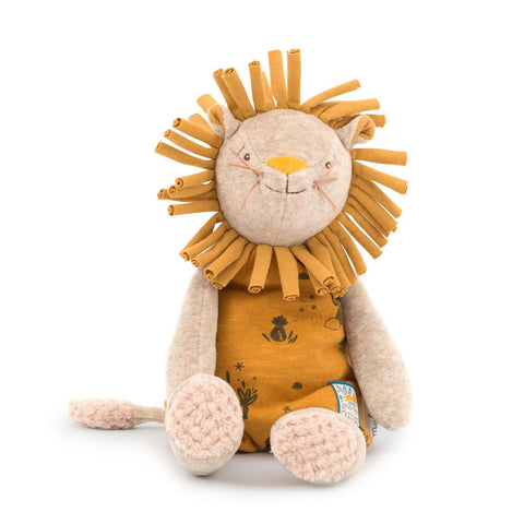 "MOULIN ROTY Soft Toy Lion ""Sous mon baobab"""