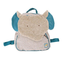 "MOULIN ROTY Elephant Backpack ""Sous mon baobab"""
