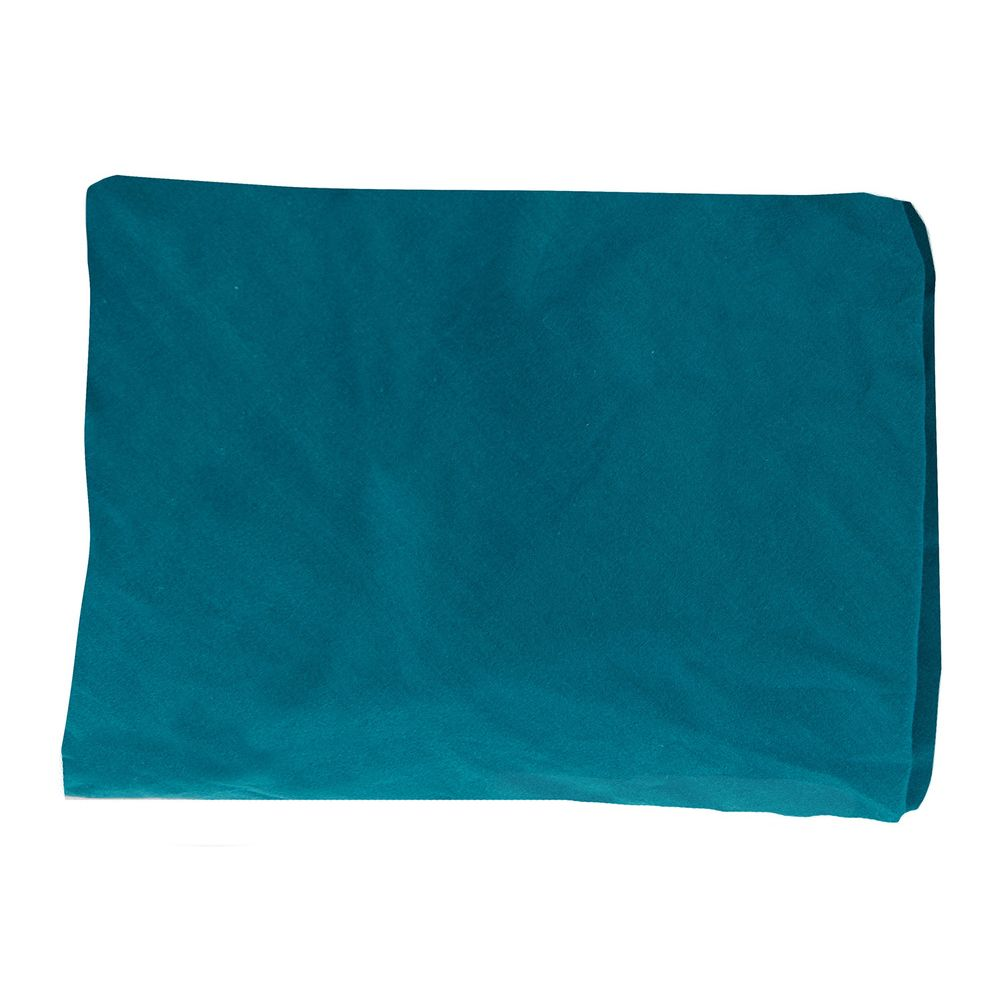 "MOULIN ROTY Fitted sheet Blue ""Sous mon baobab"""