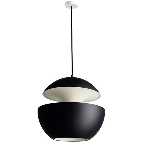 DCW EDITIONS Suspension Light Here Come The Sun 550 Black