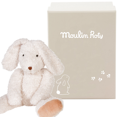 "MOULIN ROTY Soft Toy Large rabbit ""Vite un câlin"""
