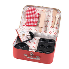 "MOULIN ROTY Suitcase Baking set ""Classic toys"""
