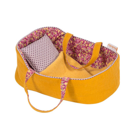 "MOULIN ROTY Medium-sized carry cot ""Famille Mirabelle"""