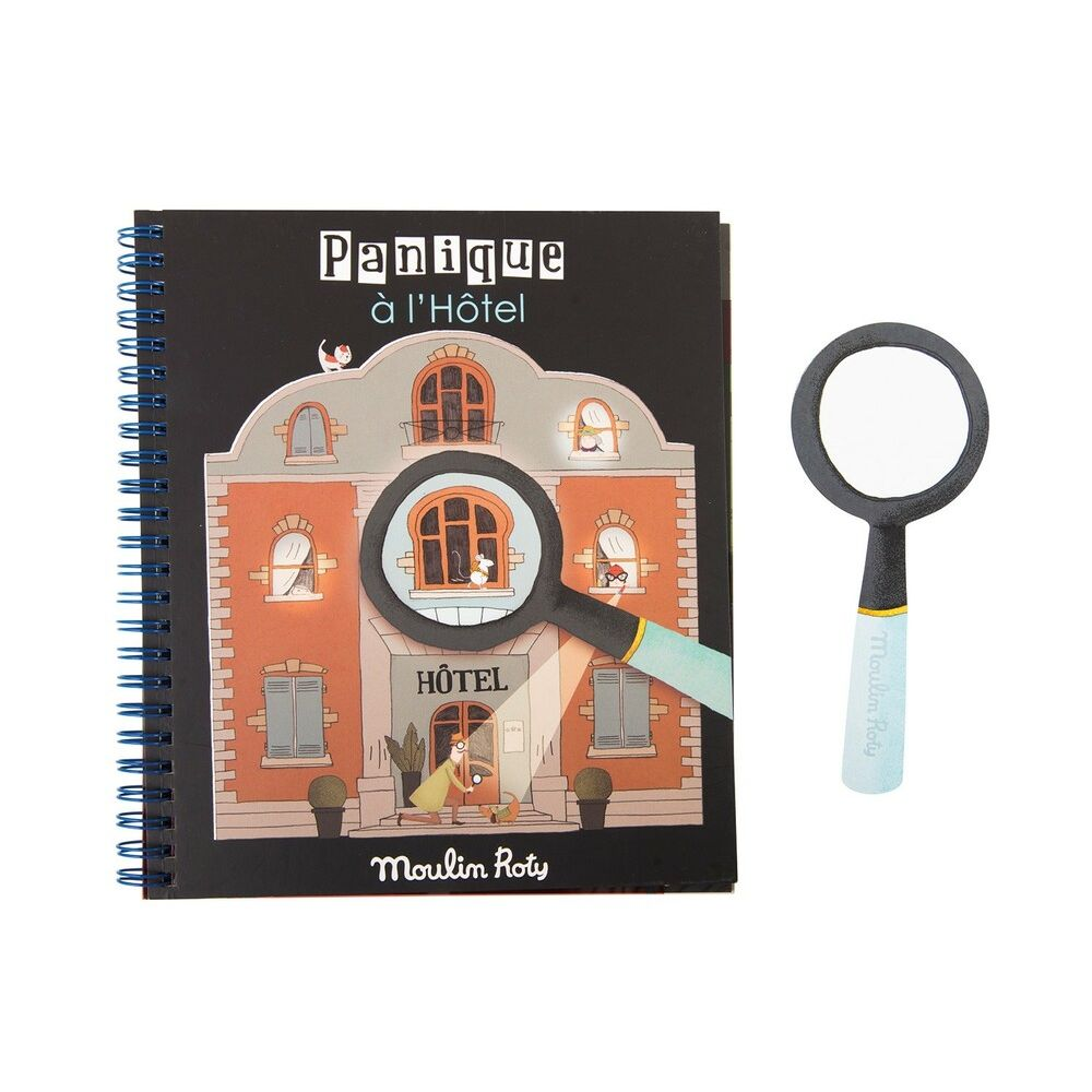"MOULIN ROTY Magic magnifying glass book ""Les Petites Merveilles"""