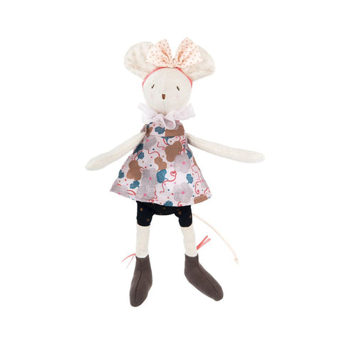 "MOULIN ROTY Soft Toy Lala the mouse ""Il était une fois"""