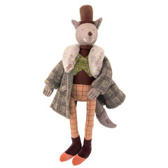 "MOULIN ROTY Doll The gentleman wolf ""Il était une fois"""