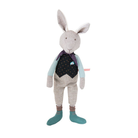 "MOULIN ROTY Doll Forever late Rabbit ""Il était une fois"""