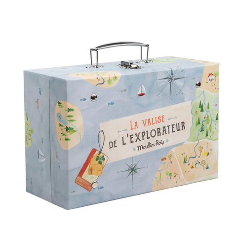 "MOULIN ROTY Suitcase Explorer ""Classic toys"""