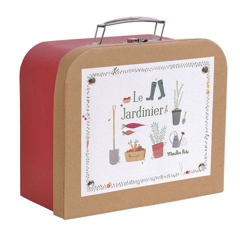 "MOULIN ROTY Suitcase Gardener ""Classic toys"""