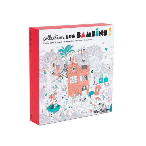 "MOULIN ROTY Puzzle 56 pieces ""Les Bambins"""