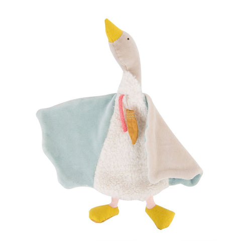 "MOULIN ROTY Olga the goose comforter ""Le voyage d'Olga"""