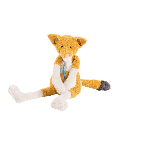 "MOULIN ROTY Soft Toy Chaussette the fox ""Le voyage d'Olga"""