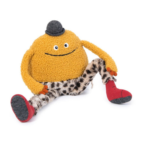 "MOULIN ROTY Soft Toy Yellow Mouni ""Les Schmouks"""