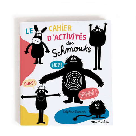 "MOULIN ROTY 96-page Activity book Les Schmouks ""Les Schmouks"""