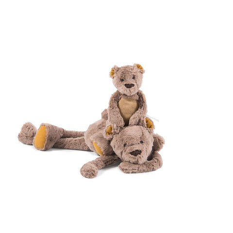 "MOULIN ROTY Soft Toy Bear ""Les Baba-Bou"""
