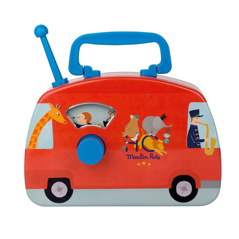"MOULIN ROTY Circus musical bus ""Metal toys"""