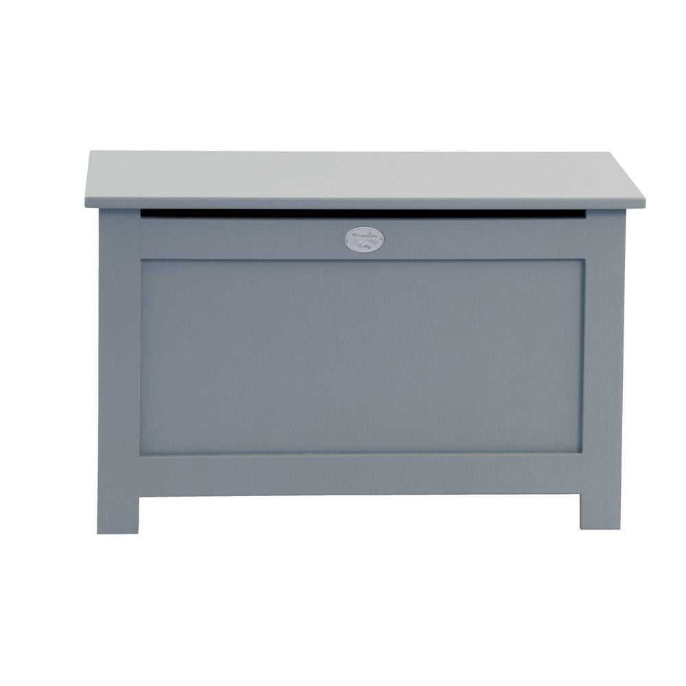 MOULIN ROTY Beech tree slate grey toy chest