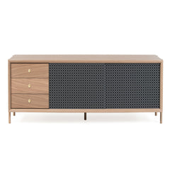 HARTO Sideboard Gabin Oak Version Slate Grey 162cm