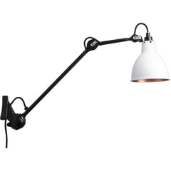 DCW EDITIONS Wall Light Lampe Gras 222 Black Body Copper Inside