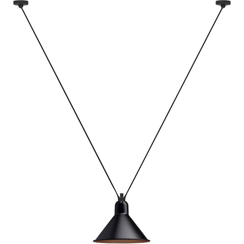DCW EDITIONS Suspension Light Les Acrobates de Gras 323 Conic Shade L Copper Inside