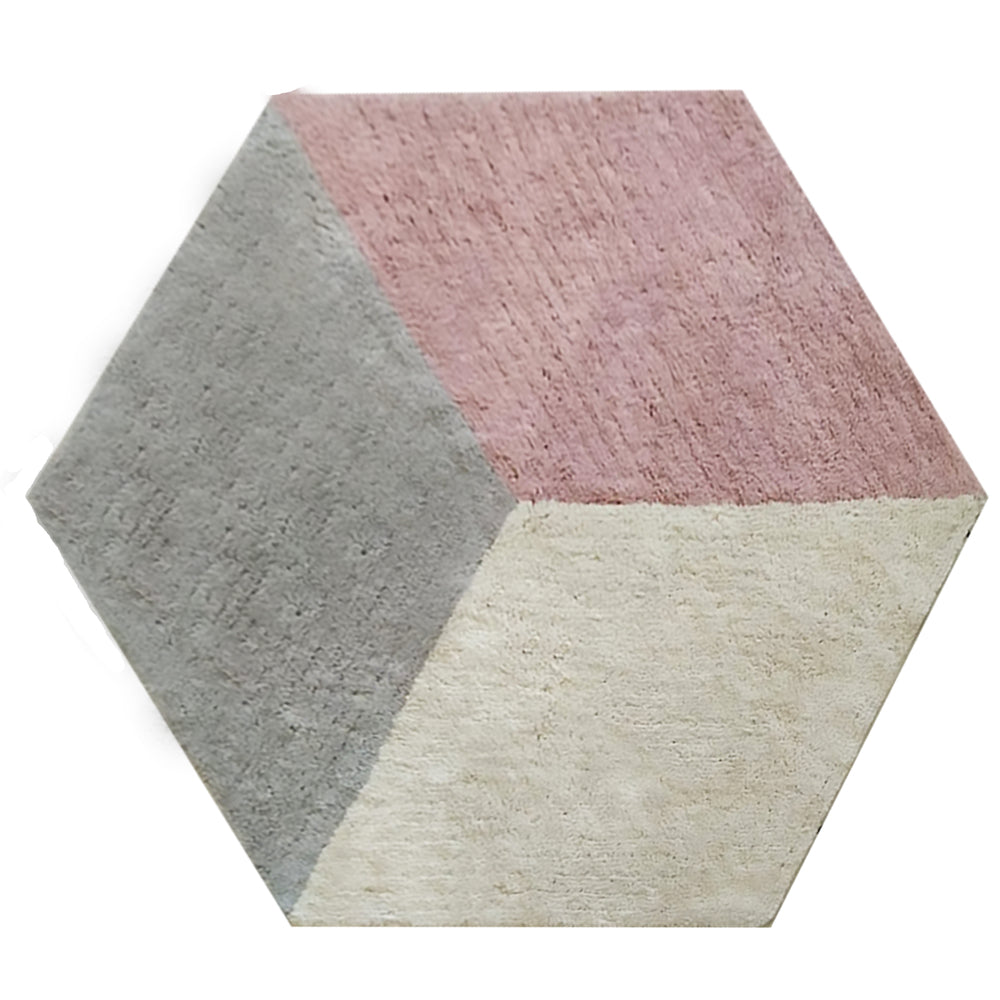AFKLIVING Kids Rug Cube Washable Pink M
