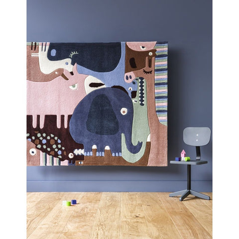 AFKLIVING Kids Rug Animals