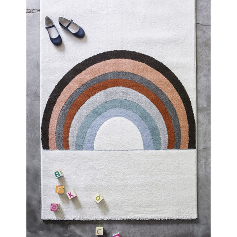 AFKLIVING Kids Rug Rainbow