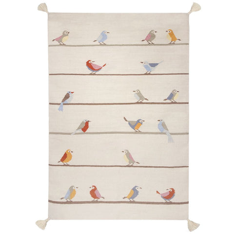 AFKLIVING Kids Rug Birds