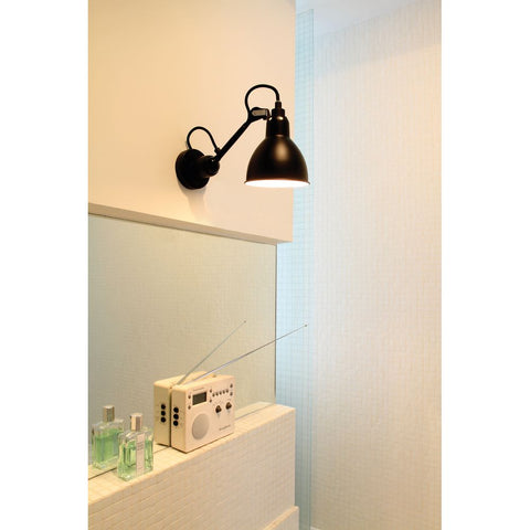 DCW EDITIONS Wall Light Lampe Gras 304 Cable Black Body Copper Inside
