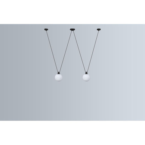 DCW EDITIONS Suspension Light Les Acrobates de Gras 324 Glassball