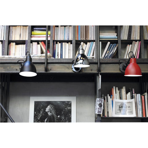 DCW EDITIONS Wall Light Lampe Gras 304 Cable Black Body
