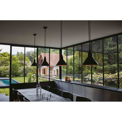 DCW EDITIONS Suspension Light Les Acrobates de Gras 322 Conic Shade L Copper Inside