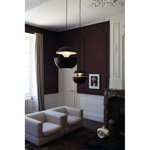DCW EDITIONS Suspension Light Here Come The Sun 350 Black