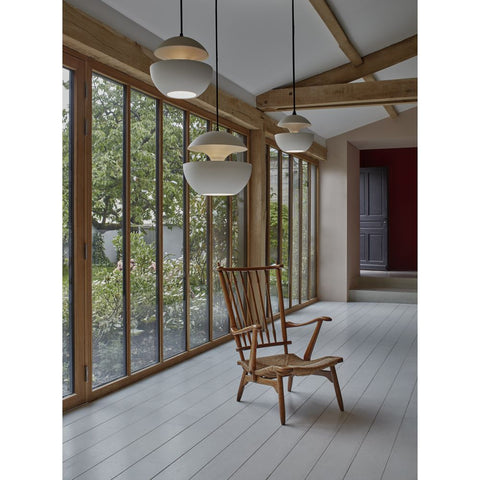 DCW EDITIONS Suspension Light Here Come The Sun 350 White