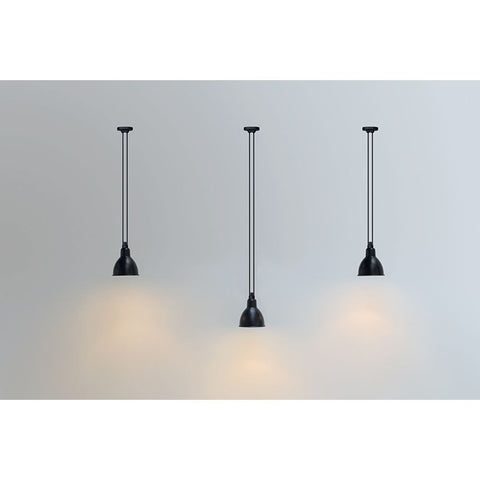 DCW EDITIONS Suspension Light Les Acrobates de Gras 322 Round Shade L Copper Inside