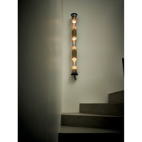 DCW EDITIONS Wall Light In The Tube 120-1300 Gold Mesh Black Stopper