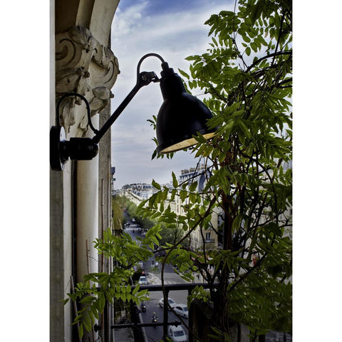 DCW EDITIONS Wall Light Lampe Gras 304 XL Outdoor Black Body