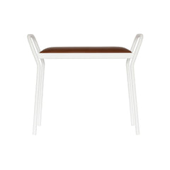 MAZE Stool Anyone White / Vintage Cognac