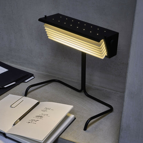 DCW EDITIONS Table Lamp Biny All Black