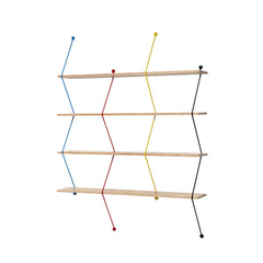 LA CHANCE Shelf Climb 120 Color Metal Threads & Birchwood