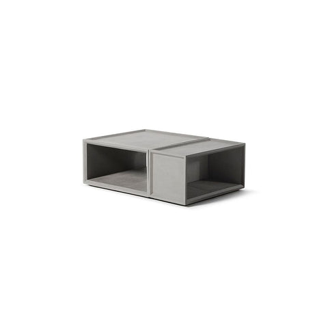 LYON BETON Coffee Table Plus + Storage Module Plus M