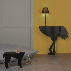 IBRIDE Ostrich Console With Light Diva Lucia 151cm